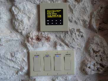 Distributed Home Audio Keypads for Sugar Land Home