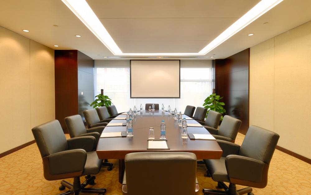 boardroom with audio visual design in sugar land texas